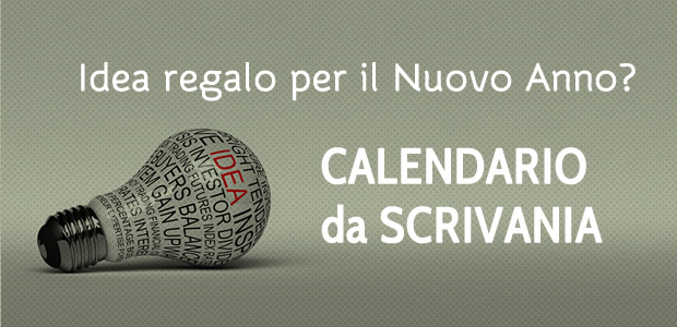 Idea regalo per il 2014? Calendario da scrivania